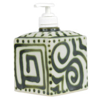 Graffiti Green Soap Dispenser
