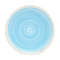 "9"" Thin Plate in Blue - Louisville Pottery Collection"
