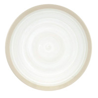 "Thin 14"" Platter  in White - Louisville Pottery Collection"