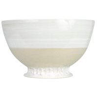 "14"" Champange Bowl  in White - Louisville Pottery Collection"