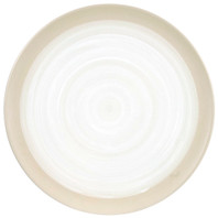 "16"" Round Platter  in White - Louisville Pottery Collection"