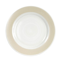 "11"" COOP PLATE IN WHITE - LOUISVILLE POTTERY COLLECTION"