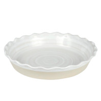 Pinched Rim Pie Plate - Louisville Pottery Collection