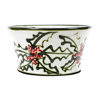 "12"" Salad Bowl in Holly Graffiti"