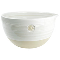 #3 Louisville Pottery Collection Nested Mixing Bowl in White
