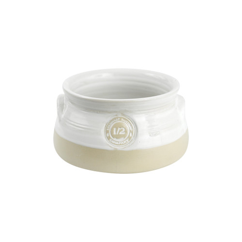 1/2-qt. Louisville Pottery Collection Casserole in White