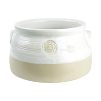 3-qt. Louisville Pottery Collection Casserole in White