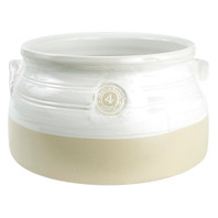 4-qt. Louisville Pottery Collection Casserole in White