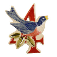 Four Calling Birds Twelve Days of Christmas Ornament