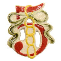 5 Golden Rings Twelve Days of Christmas Ornament