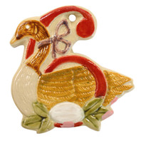 Six Geese-a-Laying Twelve Days of Christmas Ornament