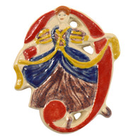 Nine Ladies Dancing Twelve Days of Christmas Ornament