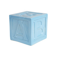 "5"" ABC Block Bank in Blue"
