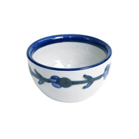 4 Ounce Dessert Bowl in Bachelor Button, Small Cornflower Bowl