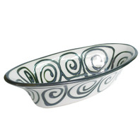 "19.5"" Medium Soiree Bowl in Graffiti"
