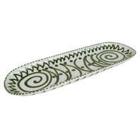 "26"" Oblong Platter made from Stoneware"