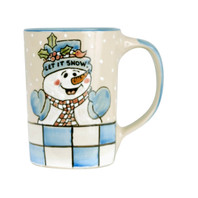 14oz Mug Let It Snow