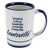 Looavul, Luhvul, Loueville, Looaville, Looeyville 14 Oz Mug