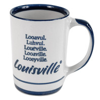 Looavul, Luhvul, Loueville, Looaville, Looeyville, Louisville 14 Oz Mug
