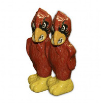 Salt & Pepper Shaker, University of Louisville Cardinal