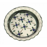 Pinched Rim Pie Plate in French Country