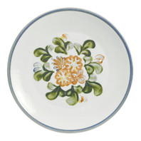 "14"" Round Platter in Country Flower Blue"
