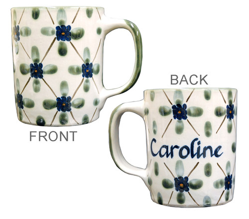 Personalized 14 oz Stoneware Mug