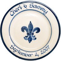 Personalized Stoneware Plate