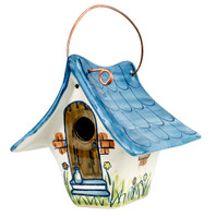 "8.5"" Wren House Large in Blue"
