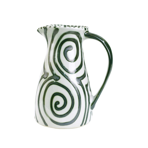 1 1/2qt Pitcher in Graffiti Green