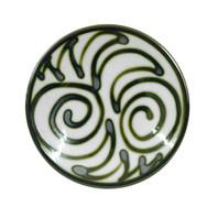 "8"" Thin Plate in Graffiti Green"
