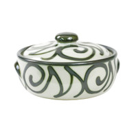 2qt. Casserole & Cover in Graffiti Green