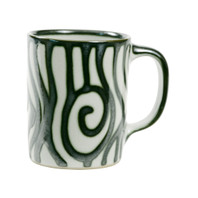 14 Ounce Mug in Graffiti Green