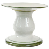 Large Cake Stand with Green Bands