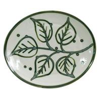"15"" Oval Platter in Flora"