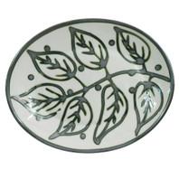 "12"" Oval Platter in Flora"