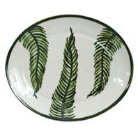 """15"""" Oval Platter in Fern"""