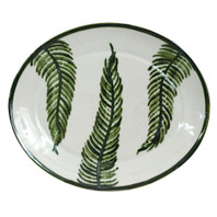 "15"" Oval Platter in Fern"