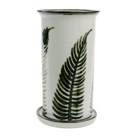 "10.5"" Wine Cooler & Saucer in Fern"