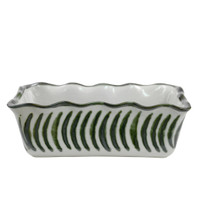 Pinched Rim Loaf Pan in Fern