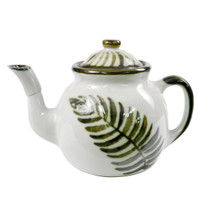 Teapot & Cover in Fern