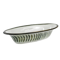 "15.5"" Small Soirée Bowl in Fern"