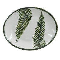 "12"" Oval Platter in Fern"