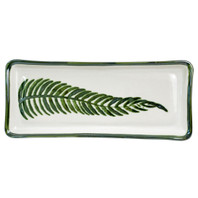 "14"" Long Rectangular Tray in Fern"