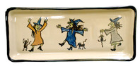 "14"" Long Rectangular Kat's Witches Tray"