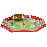 U of L Football Chip & Dip Set
