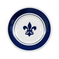 Blue Fleur de Lis Plate