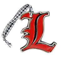 "Embossed U of L ""L"" Ornament"