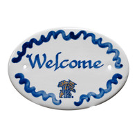 "UK Wildcat 8"" Oval Door Plaque"