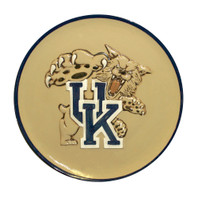 "UK Wildcat, Embossed 16"" Round Platter"